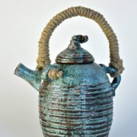Чайник керамика. Авторская работа