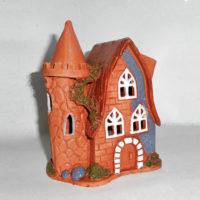 Домик из керамики, аромалампа Артур. Ялта керамика, глина