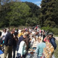 Ялта - Выставка ярмарка в Никитском Ботаническом Саду на Парад Тюльпанов