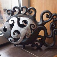 Рыбка керамика, авторская работа Саша Сопин. Ялта