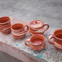 Чашки керамика, авторская работа. Ялта. Крым