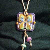 Бабочка, сувенир, кулончик, подарок